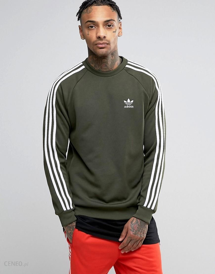 Adidas Originals SST Crew Neck Sweatshirt In Green BQ5406 Green Ceneo.pl