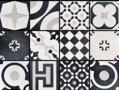 Plytki Fioranese Cementine Black White Mix 20x20 Patchwork Opinie
