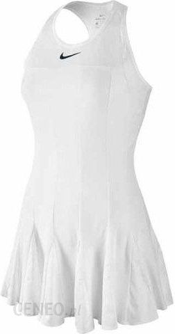 e17ba1e9e Nike Sukienka tenisowa Premier Maria Dress white/black 728797100 - zdjęcie 1