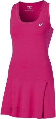 d5bf33082487f6 Asics Sukienka tenisowa Club Dress berry 1302576020 - Ceny i opinie ...