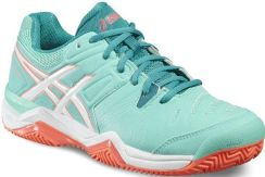 Asics Buty tenisowe Gel-Challenger 10 Clay cockatoo white flash coral  E555Y3801 c7a1d1888b08d