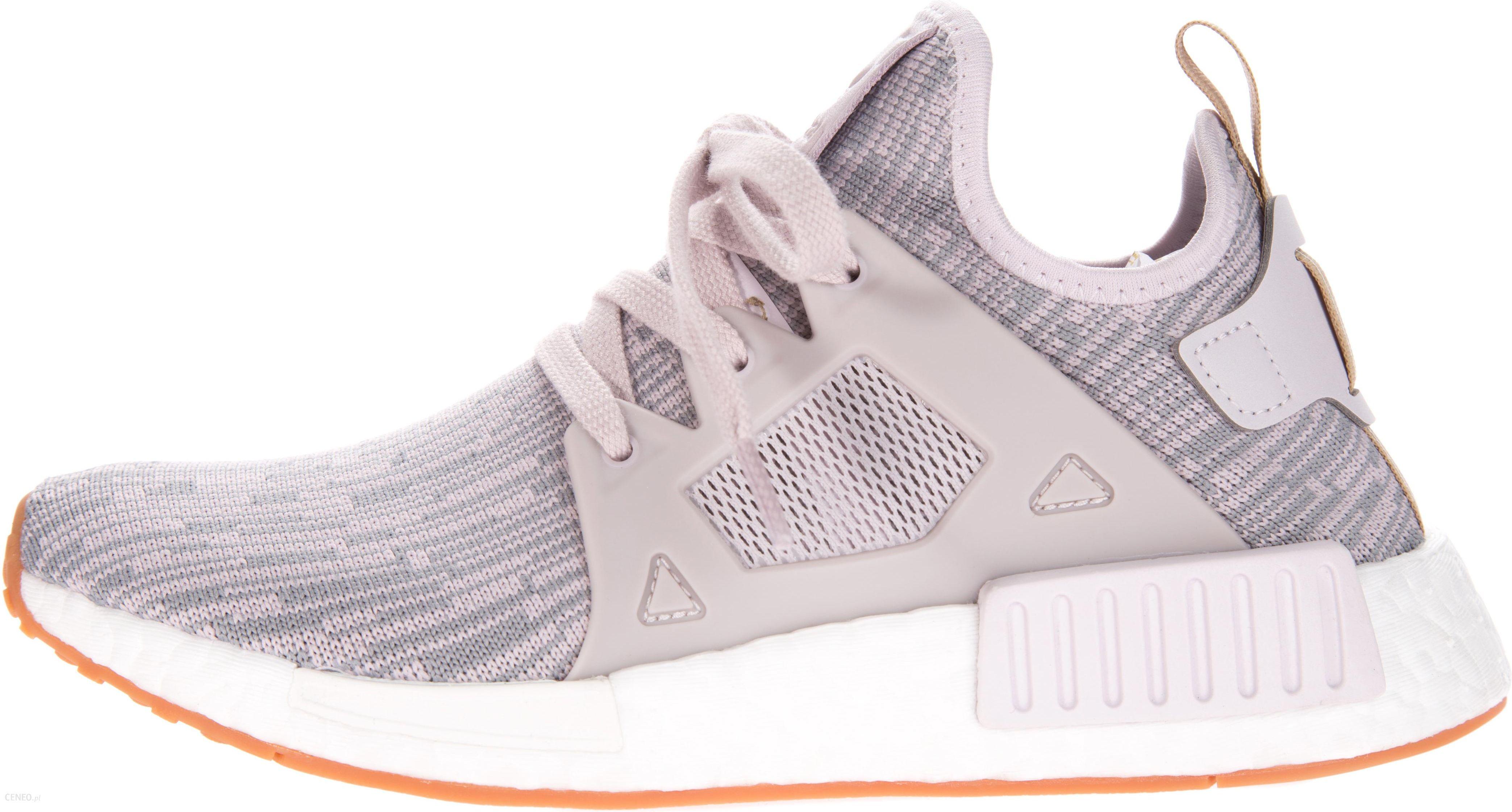 adidas nmd rozowo szare