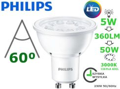 Philips Led Gu10 5W 50W 360Lm 3000K 60D 230V (8718696563403)