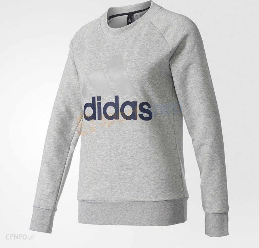 Bluza damska Essentials Linear Crewneck Sweatshirt Adidas