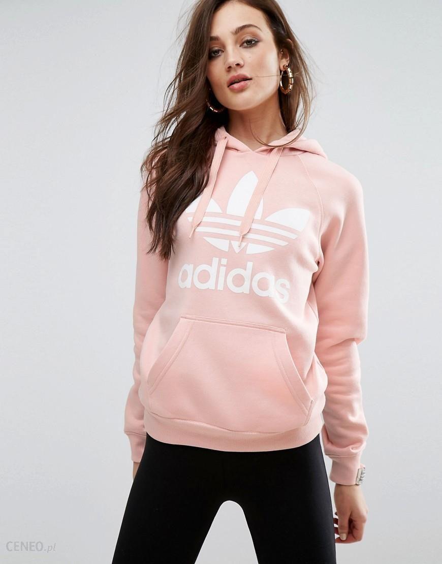 adidas originals pink hoodie
