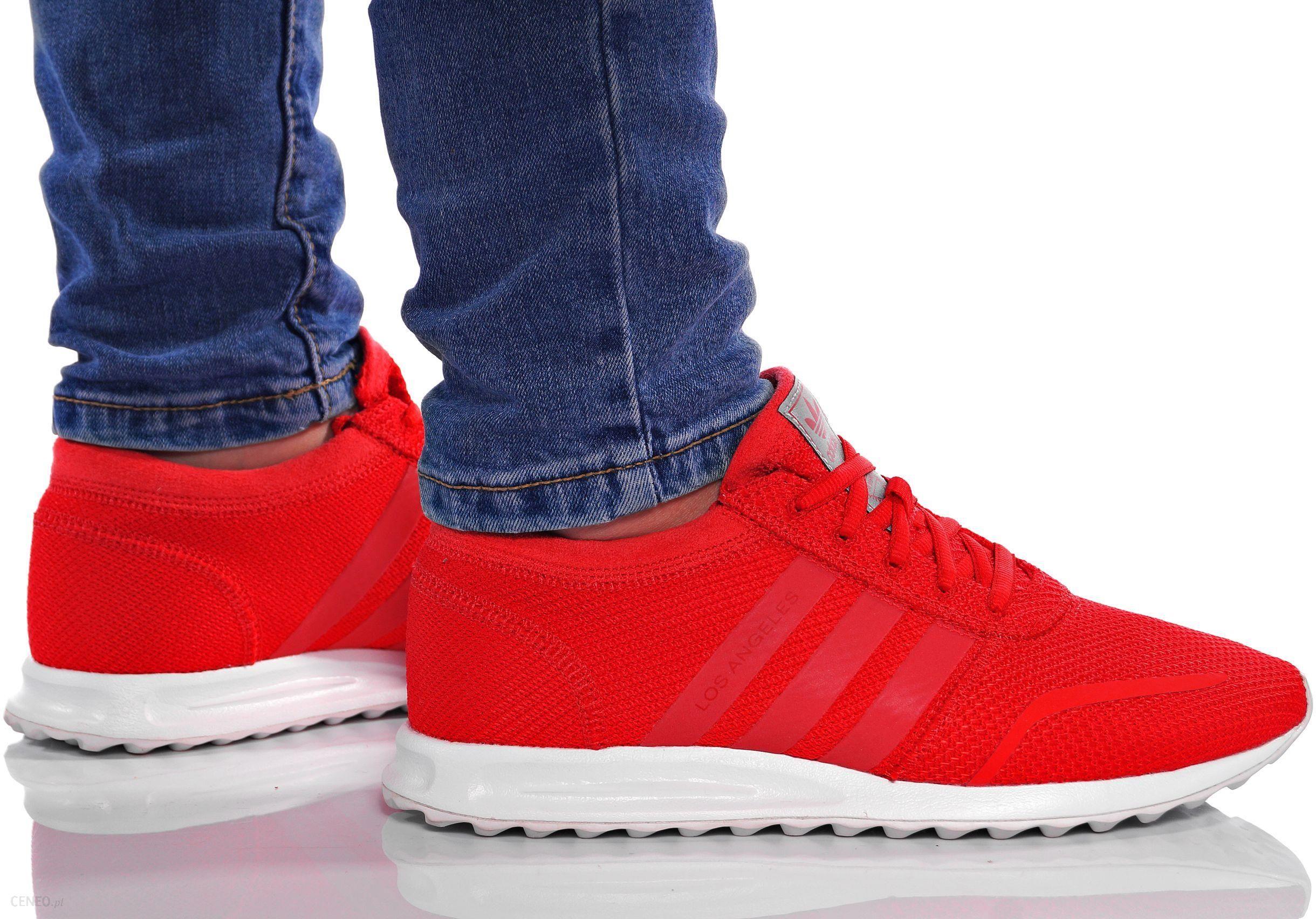 Buty Adidas Los Angeles Czerwone r. 38 S80174 Ceny i opinie Ceneo.pl