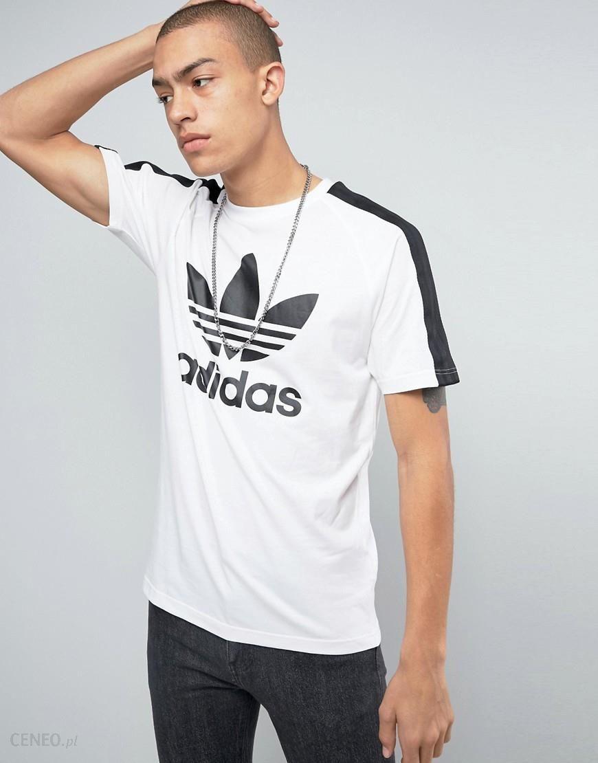 adidas Originals Berlin Trefoil Logo T Shirt In White BJ9872 White