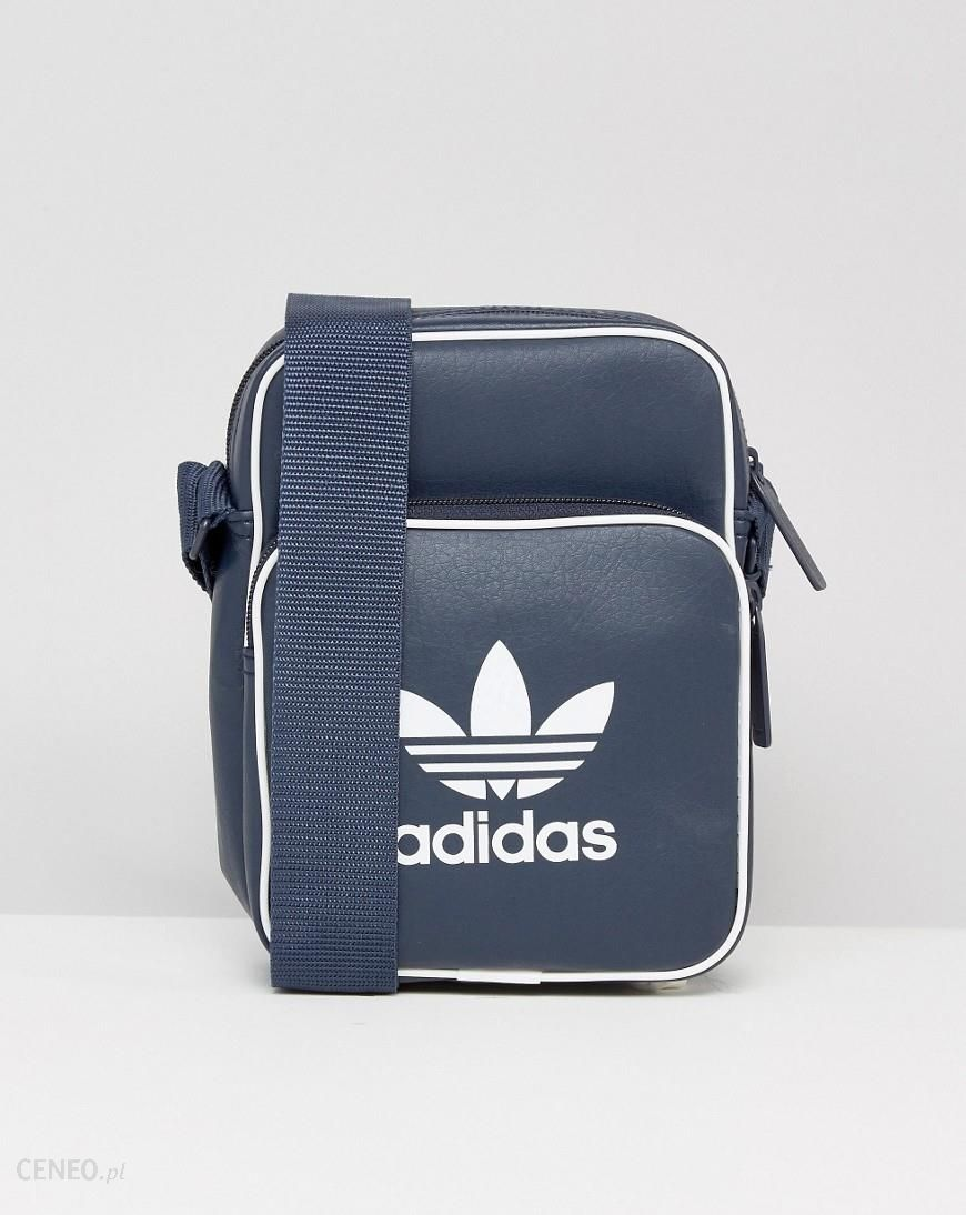 reliable quality outlet store sale factory authentic Adidas Originals Retro Flight Bag In Navy BK2131 - Navy - Ceneo.pl