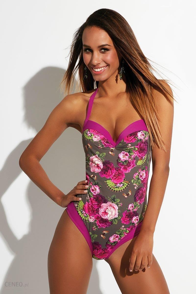 cd72928c8409af ... c9e79310182758 Krisline Jednoczęściowy kostium kąpielowy Heidi kolorowy  65/D - zdjęcie 1 ...