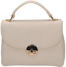 992fb85d2c631 Markowa modna mała torebka kuferek David Jones w beżowym odcieniu CM 3373  BEIGE-015