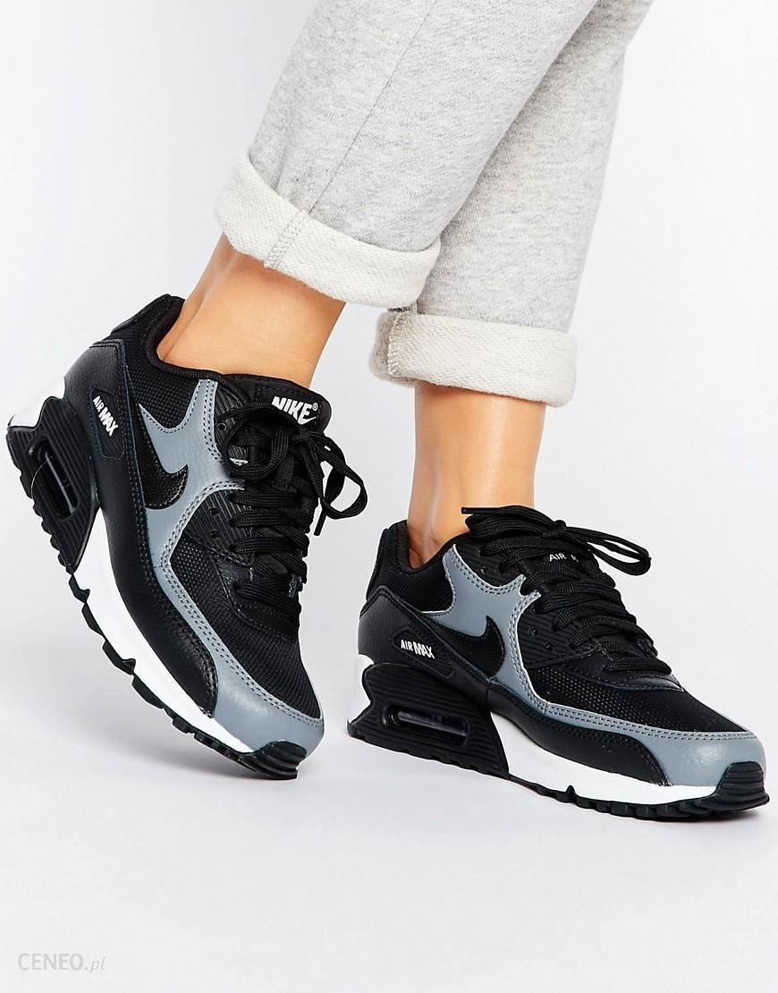 Nike Air Max 90 Trainers In Black Black