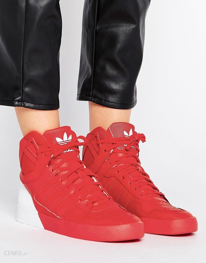 Nike Air Max 90 Red Suede Trainers With Gum Sole Red Buty damskie czerwone w Asos