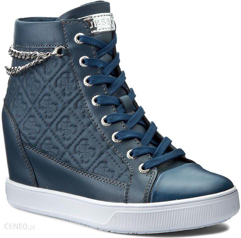Sneakersy GUESS Furia FLFRI1 LEA12 BLUE