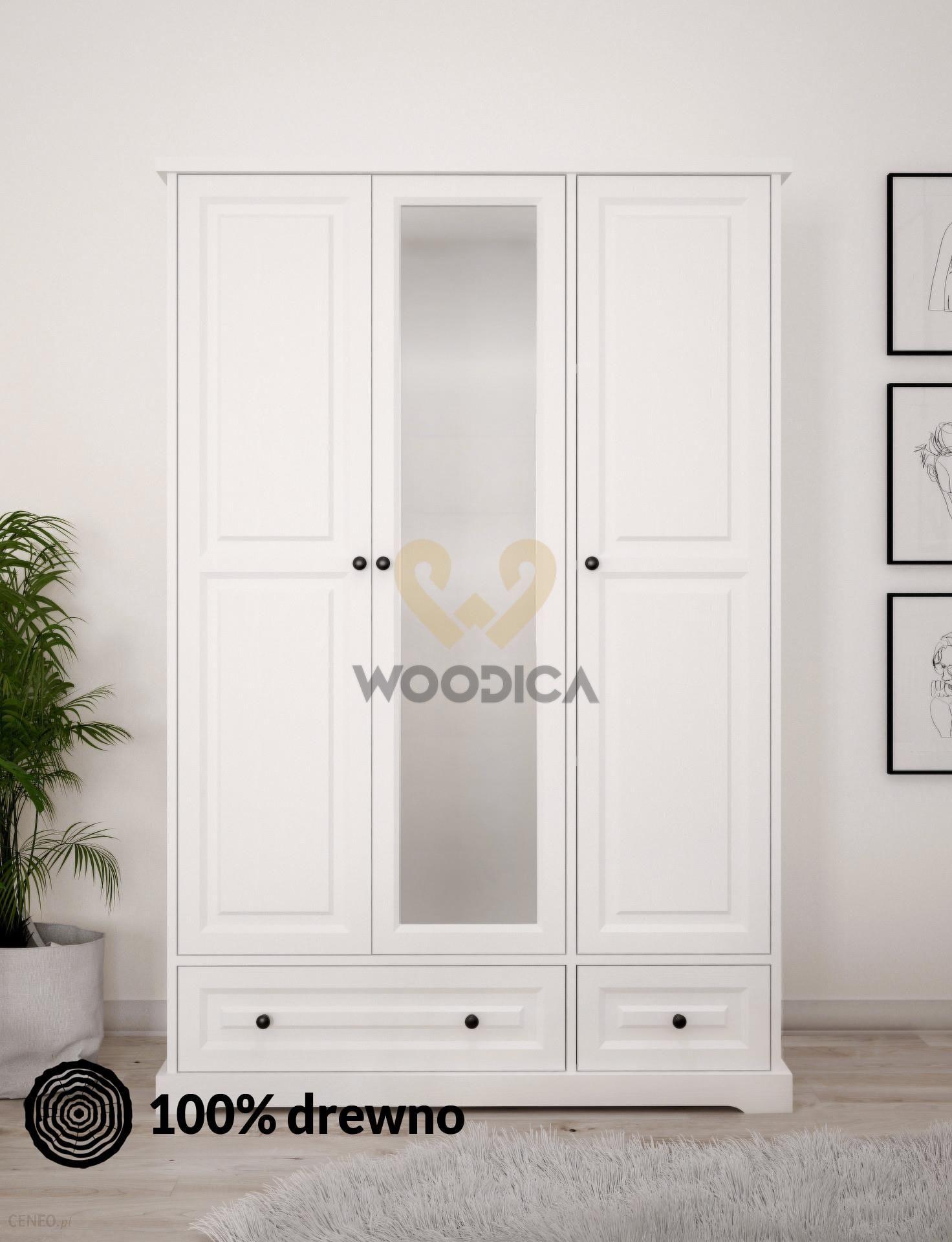 Woodica Szafa Parma 08 Z Lustrem 3d2s