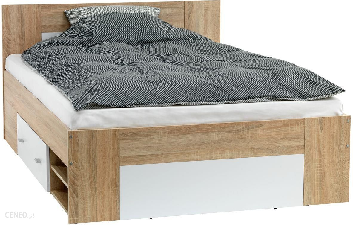 Jysk Rama łóżka Favrbo 140x200 Dąb Biały