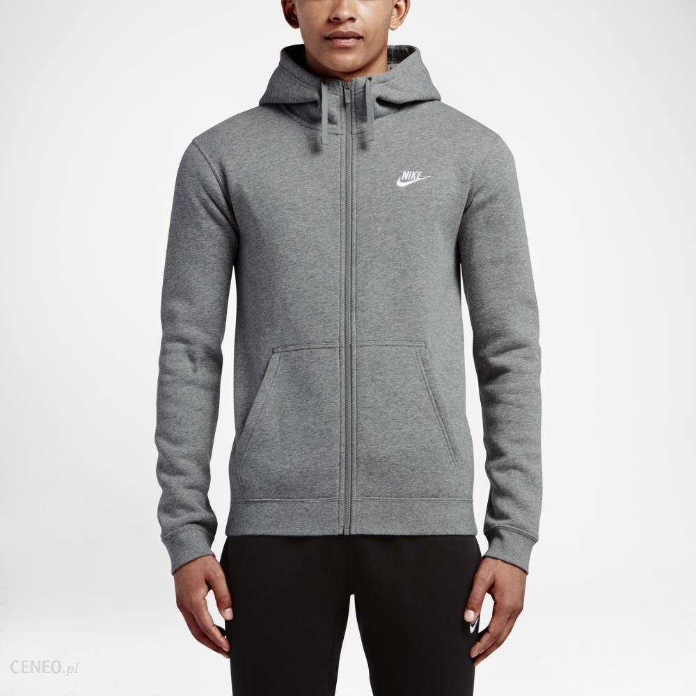 48ab542501032b Bluza Nike Sportswear M Hoodie Full Zip Fleece Club (804389-010) - zdjęcie