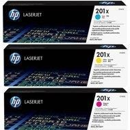 HP 201X 3-Pack CMY (CF253XM)