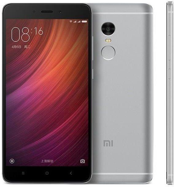 Smartfon Xiaomi Redmi Note 4X 3/32GB Szary   Zdjęcie 1