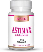 Oxycell Astimax Astaksantyna 4mg 30 kaps.