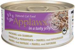 Applaws Natural Cat Food Makrela z doradą 70g