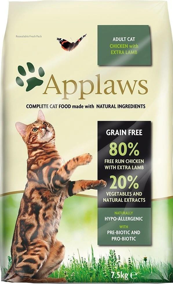 Applaws Cat Adult kurczak jagnięcina 7,5kg
