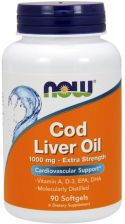 Now Foods Cod Liver Oil Tran 1000 mg 90 kaps.
