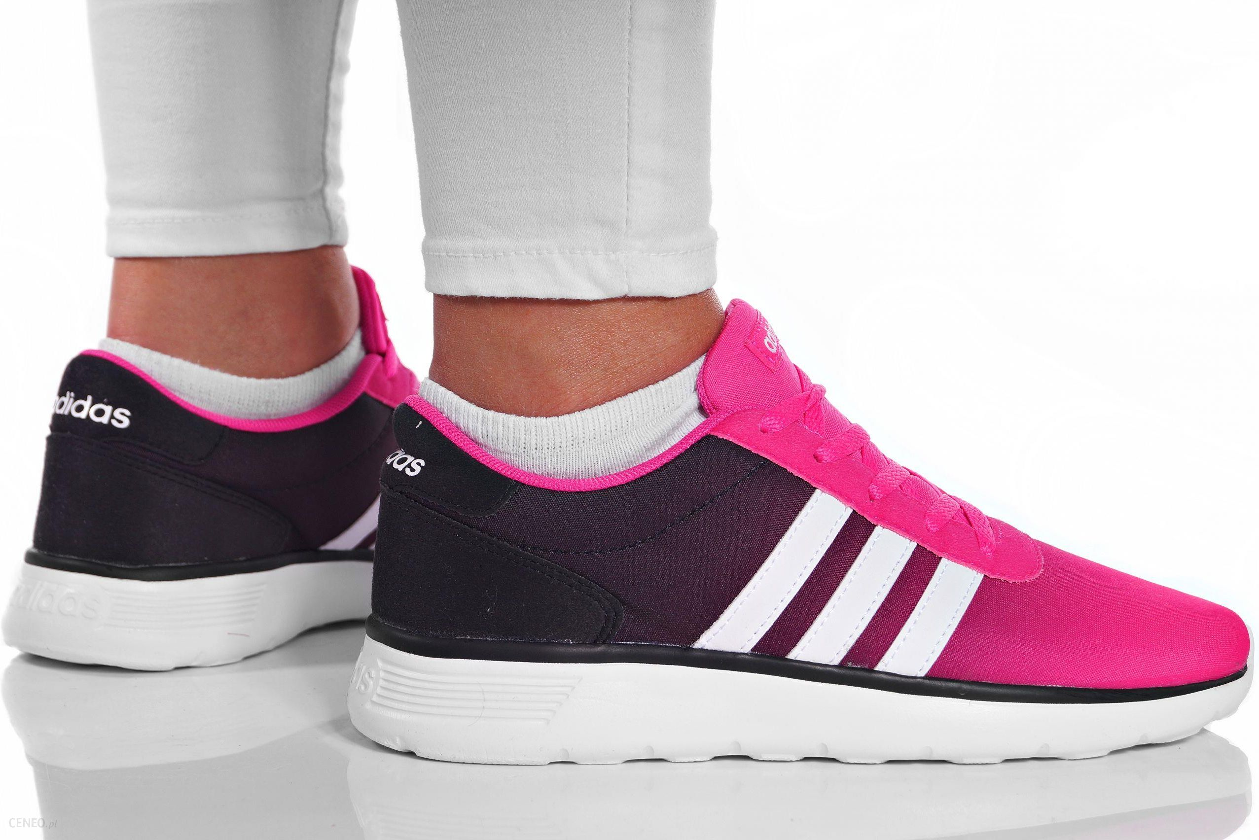 adidas neo damskie czarno różowe