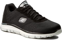 Buty SKECHERS Covert Action 51458BKW BlackWhite Ceny i opinie Ceneo.pl