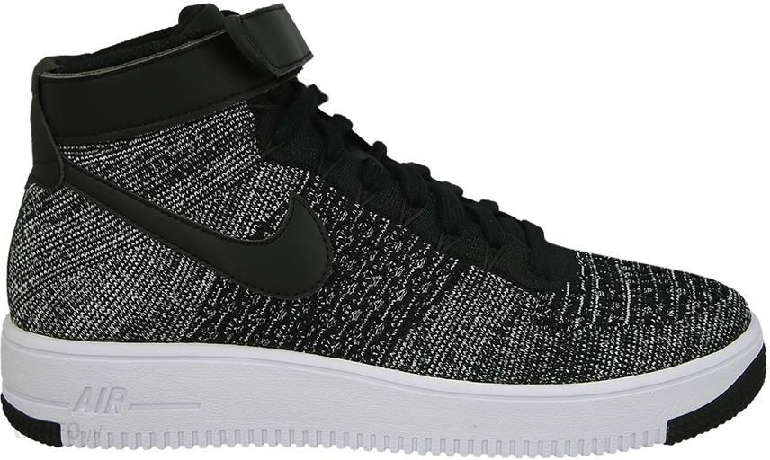 Nike Air Force 1 Ultra Flyknit Mid – Black Black White