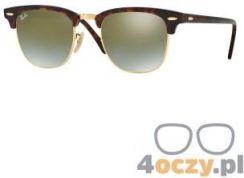 004da6ea081593 Okulary przeciwsłoneczne Ray-Ban® 3016 990/9J CLUBMASTER (rozm. 49)