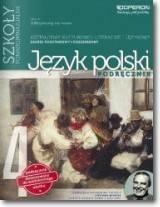 Podręcznik szkolny Odkrywamy na nowo. Język polski 4. Podręcznik dla szkół ponadgimnazjalnych - zdjęcie 1