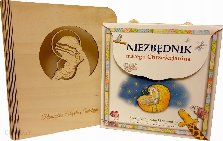 prezent na chrzest złoty niezbędnik Chrześcijanina książeczka