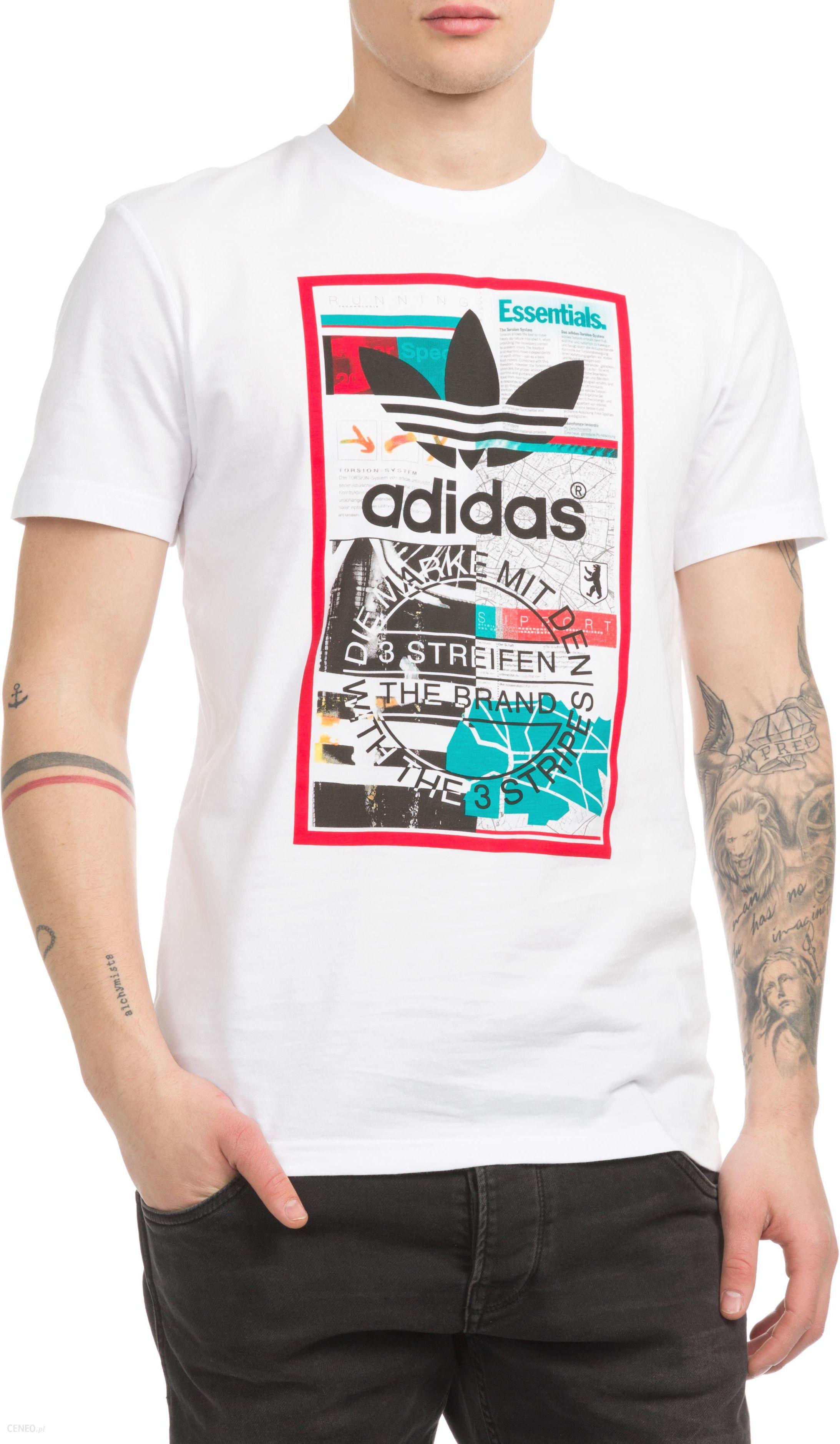 adidas Originals Monthly Graphic T shirt Biały L