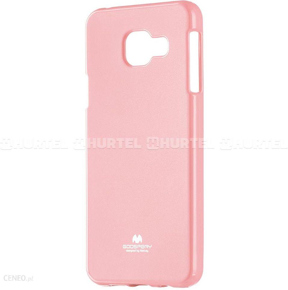 best loved d773d 49b30 mercury Goospery żelowe etui Jelly Case Samsung Galaxy A5 2016 A510 Różowy  Jasny