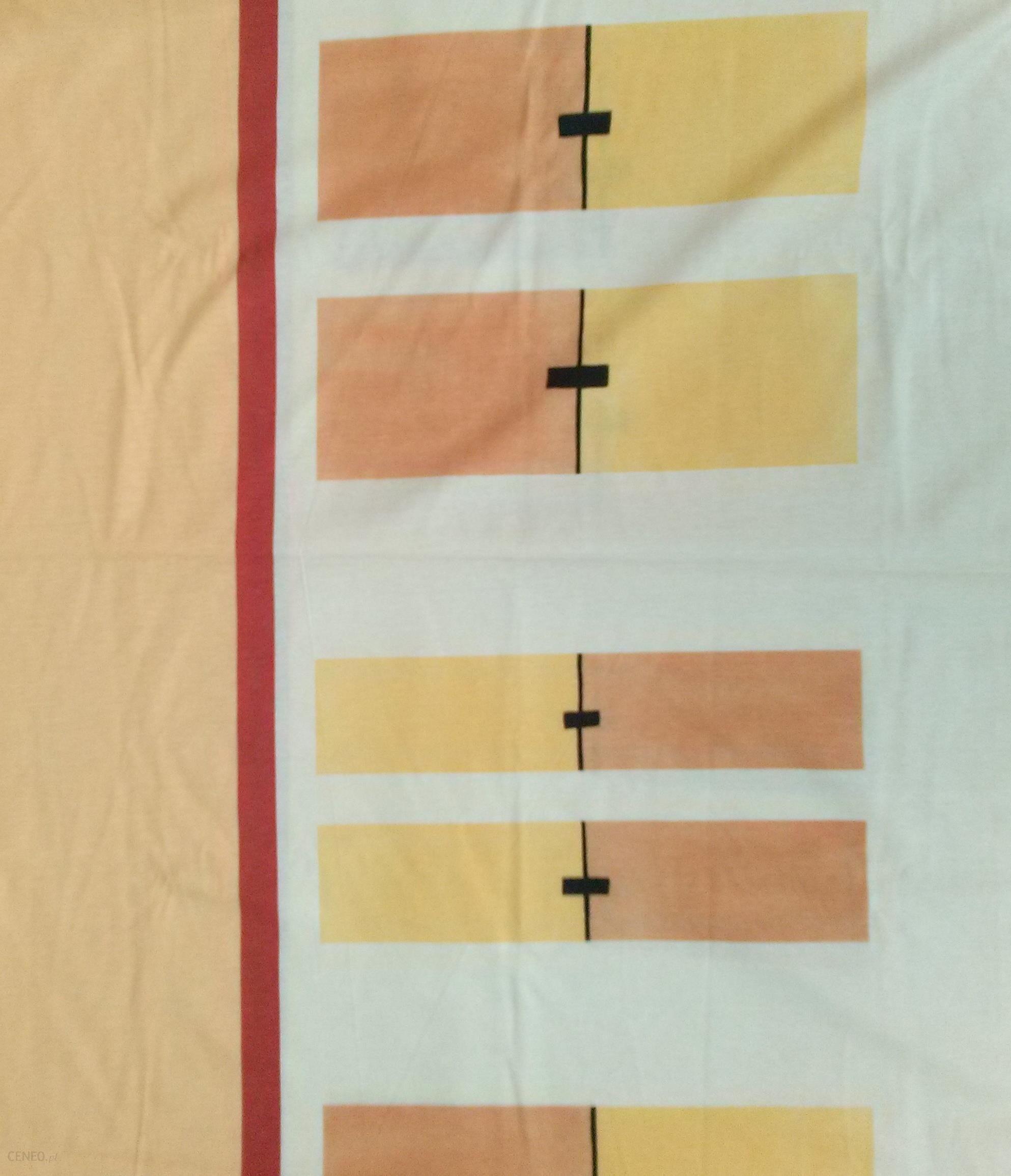 Poszewka Jersey 70x80 2624 Geometria żółto Pomarańczowa Opinie I