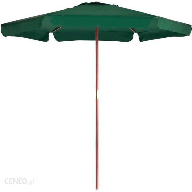 Castorama Opp Parasol Drewniany 250 Cm Zielony