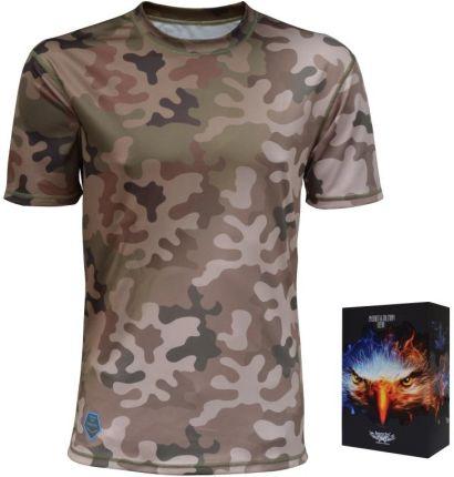 Haasta Koszulka Haasta Coolmax Wz93 Leśny / Pustynny (Khcwzc2) - Ceny i opinie T-shirty i koszulki męskie VSFS
