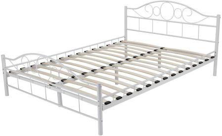 Lozko Metalowe Biale łóżka Ceneopl