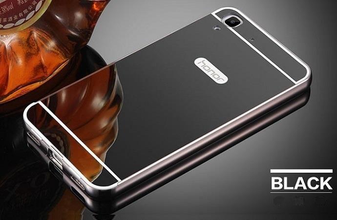 the best attitude 5f7d5 21de4 saiboro Etui Mirror Case Huawei Y6 Czarny (203e962bb)