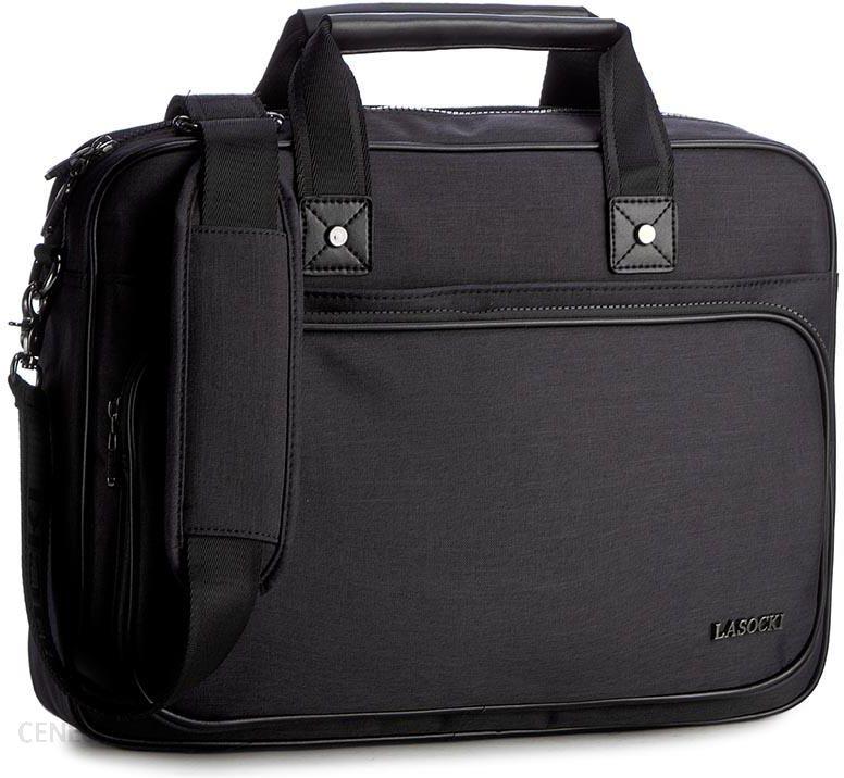 Torba na laptopa LASOCKI FOR MEN - RM0363 Czarny - Ceny i opinie ... e41887a56b