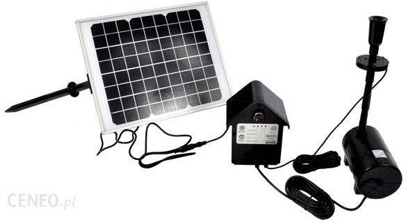 Tip Pompa Solarna Do Oczka Wodnego Z Oświetleniem Led Sps80012