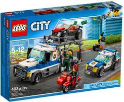 Klocki Lego City Skok Na Transporter Samochodów 60143 Ceny I