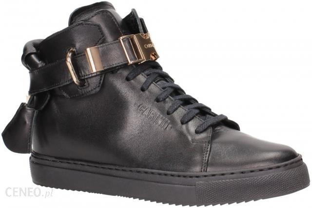 Sneakersy Carinii B3770 Czarny 38 Czarny 3cm 5cm
