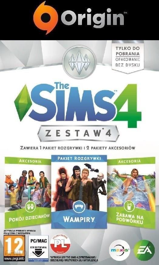 The Sims 4 Zestaw Dodatków 4 Digital