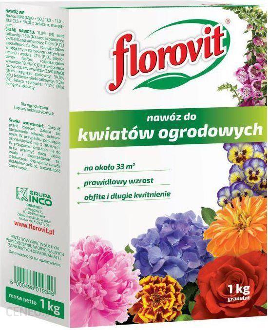 Florovit Nawóz Do Kwiatów Ogrodowych 1kg Inc000096
