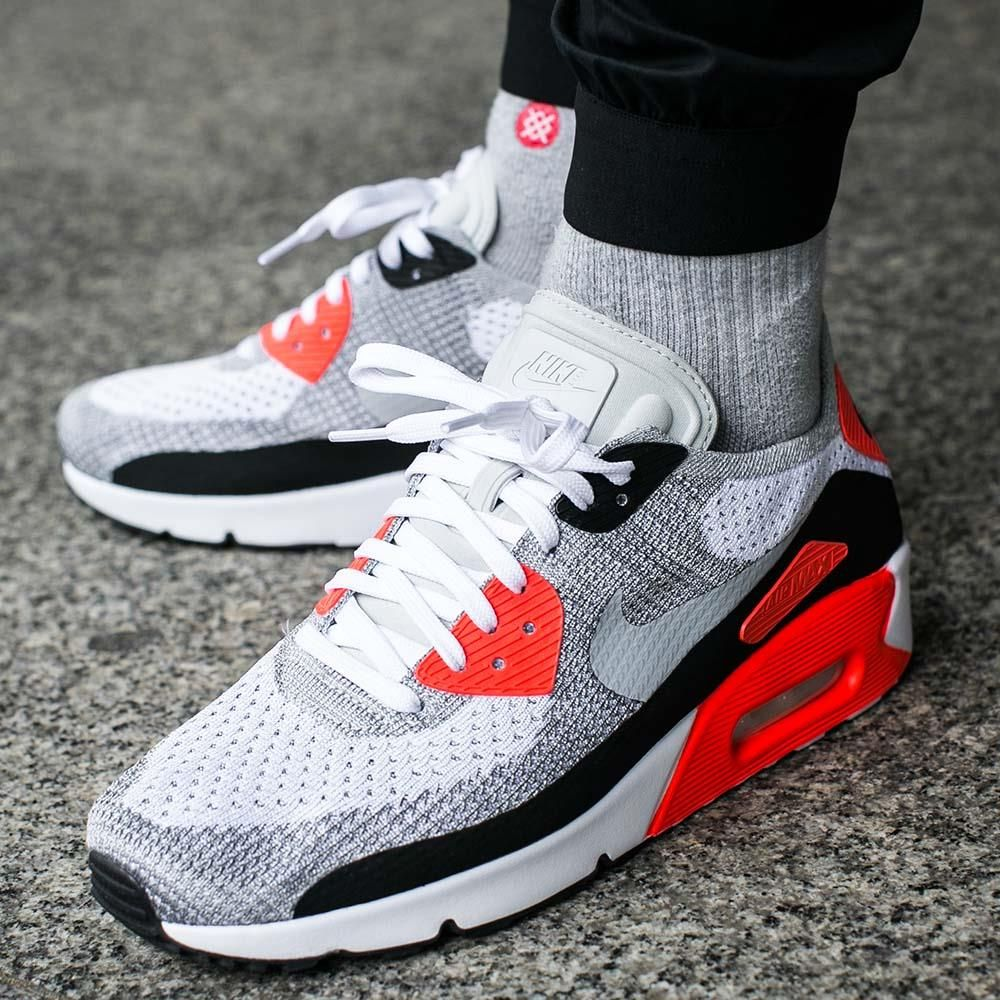 super popular 7a54e d9c67 Buty Nike Air Max 90 Ultra 2.0 Flyknit Bright Crimson (875943-100 ...