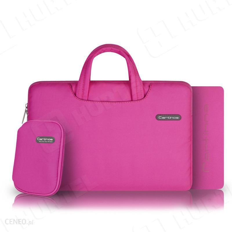 28a0a633ed937 Torba na laptopa Cartinoe Ambilight Series 13,3 cala różowa (8754) - zdjęcie