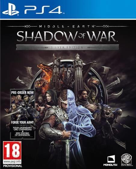 Śródziemie: Cień Wojny - Srebrna Edycja (Gra PS4)