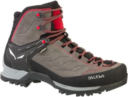 Salewa Ms Mtn Trainer Mid Gtx 4720 Charcoal Papavero