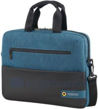 ea9921150c6d4 Torba na laptop SAMSONITE AT CITY DRIFT 80529 Czarno niebieska - czarny /  niebieski